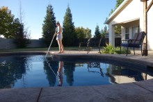 Sweeping the pool